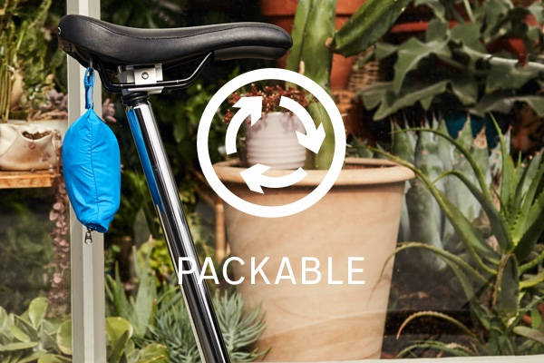 Brompton City Apparel - Packable key feature