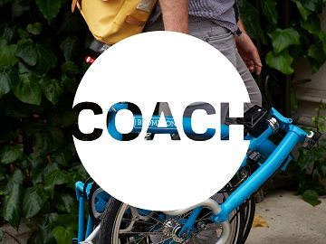 folding bike coach logo